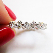 Finger Ring3-Diamond Cubic