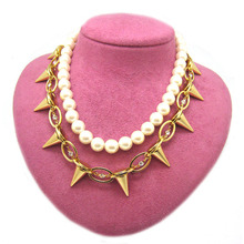 Mimic Pearl Necklace