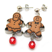 Ginger Cookie Earring