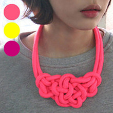 [30%할인]매듭 Neon Necklace