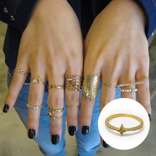 Knuckle Ring4-Diamond