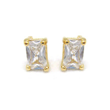 Square Cubic Earring