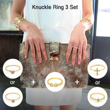 Knuckle Ring 3 Set