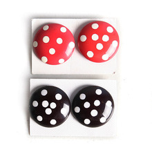 [HeCollection] White dots Earring