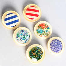 [HeCollection] Button Brooch