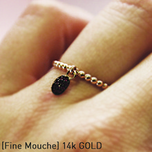 [FINE MOUCHE] Pink Ruby Ring
